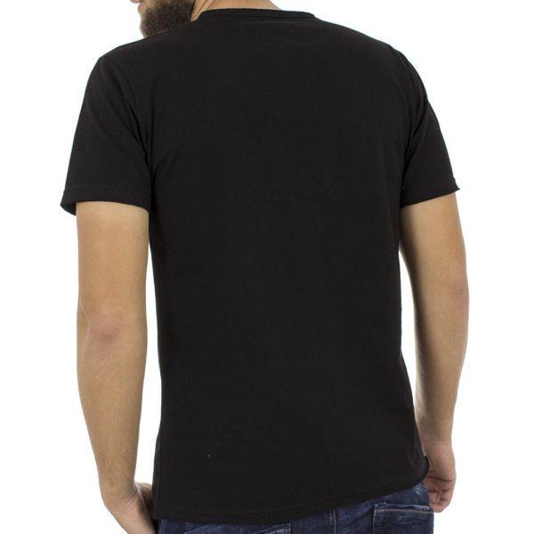 Κοντομάνικη Μπλούζα T-Shirt Cotton4all 18-519 Μαύρο