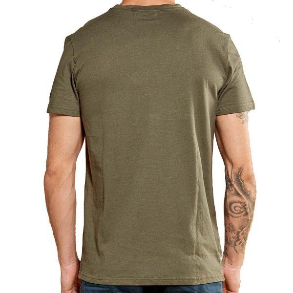 Κοντομάνικη Μπλούζα T-Shirt DEELUXE74 WINONA W18174KAK Χακί