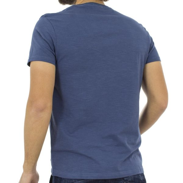 Κοντομάνικη Μπλούζα T-Shirt Flama Tee DOUBLE TS-55 Indigo