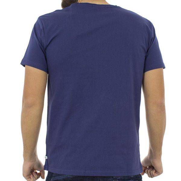 Κοντομάνικη Μπλούζα T-Shirt Jersey Tee DOUBLE TS-53 Indigo