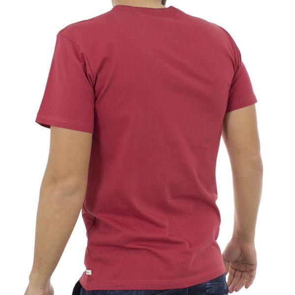 Κοντομάνικη Μπλούζα T-Shirt Jersey Tee DOUBLE TS-54 Κόκκινο