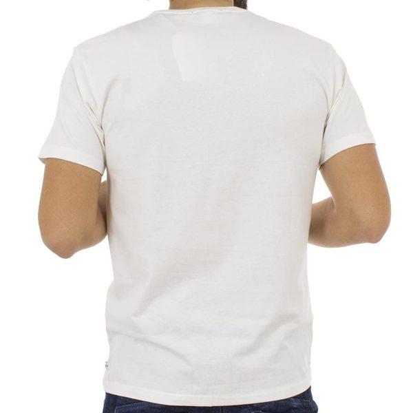 Κοντομάνικη Μπλούζα T-Shirt Jersey Tee DOUBLE TS-54 Λευκό