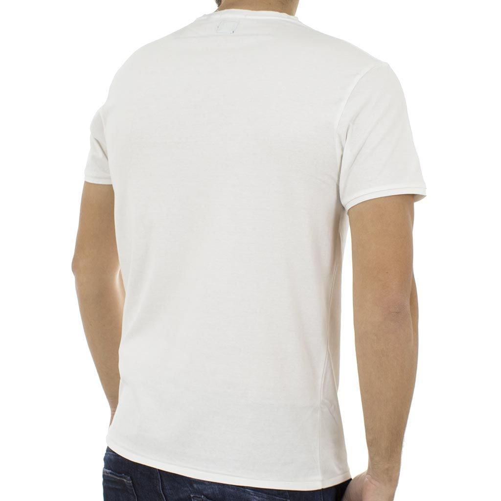 Κοντομάνικη Μπλούζα T-Shirt Jersey Tee DOUBLE TS-61 Λευκό