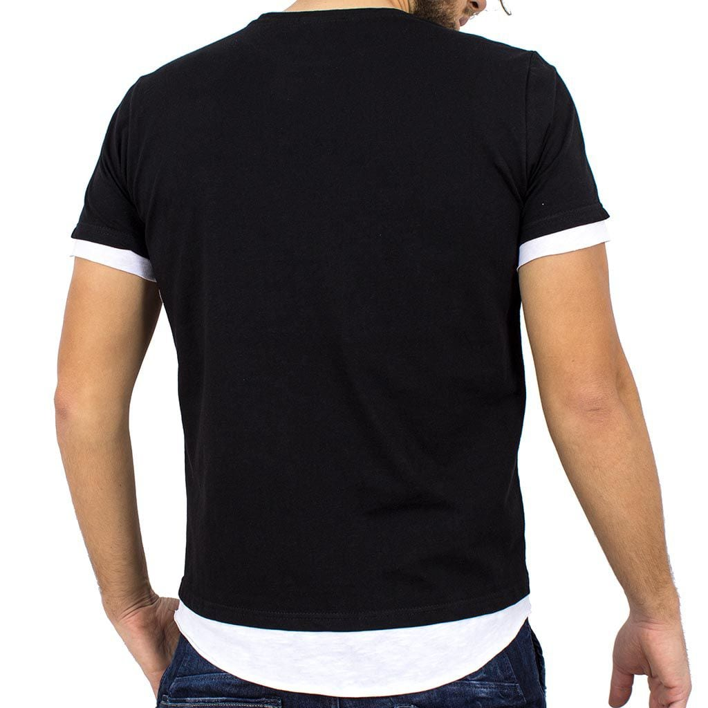 90ff25b1deda Κοντομάνικη Μπλούζα T-Shirt FREE WAVE 81112 Μαύρο