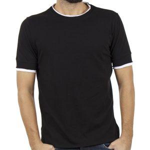 T-Shirt FREE WAVE BB GUN 81107 Μαύρο