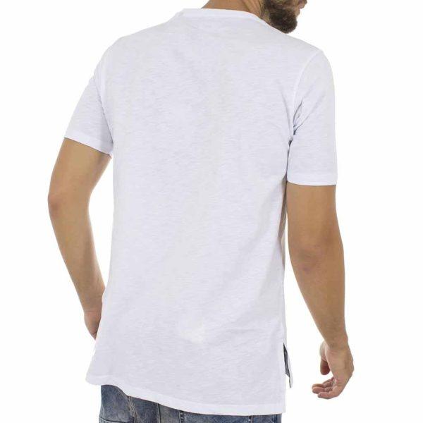 Κοντομάνικη Μπλούζα T-Shirt MESH&CO SELEUKOS 01-227 ΛευκόΚοντομάνικη Μπλούζα T-Shirt MESH&CO Asymmetric 02-219-07-31 Λευκό