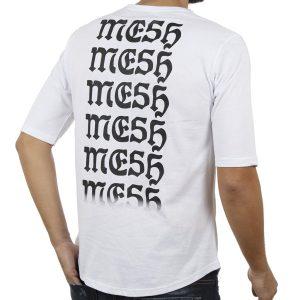 Κοντομάνικη Μπλούζα T-Shirt MESH&CO Tattoo Boy 01-244 Λευκό