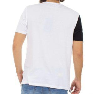 Κοντομάνικη Μπλούζα T-Shirt MESH&CO FACE LIFT 01-232 Λευκό