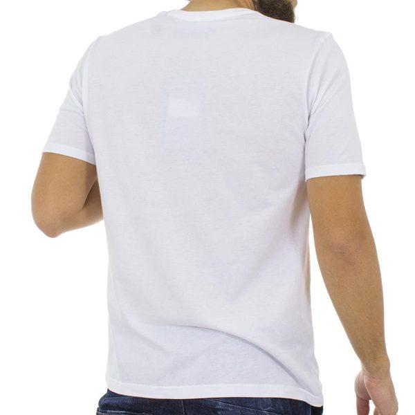 Κοντομάνικη Μπλούζα T-Shirt MESH&CO ROXANA 01-233-07-11 Λευκό