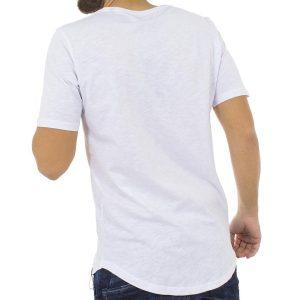 Κοντομάνικη Μπλούζα T-Shirt MESH&CO Upgrade 02-212 Λευκό