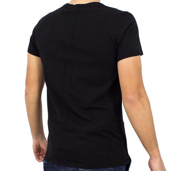Κοντομάνικη Μπλούζα T-Shirt RELIGION 18BBBG05 Μαύρο