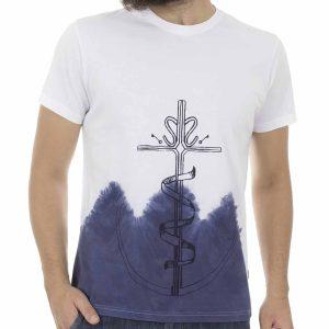 Κοντομάνικη Μπλούζα T-Shirt SNTA SS17-1-22 Λευκό