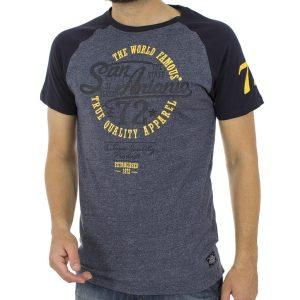 Κοντομάνικη Μπλούζα T-Shirt SPLENDID 39-206-004 Indigo