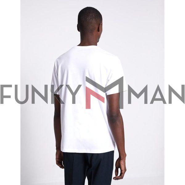Κοντομάνικο Μπλουζάκι T-Shirt Celio NESAINT Λευκό