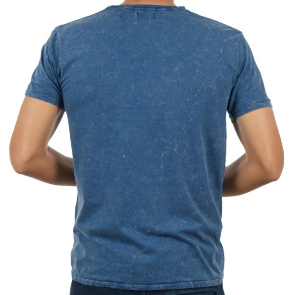 T-shirt Μπλούζα DOUBLE TS-75 Μπλε