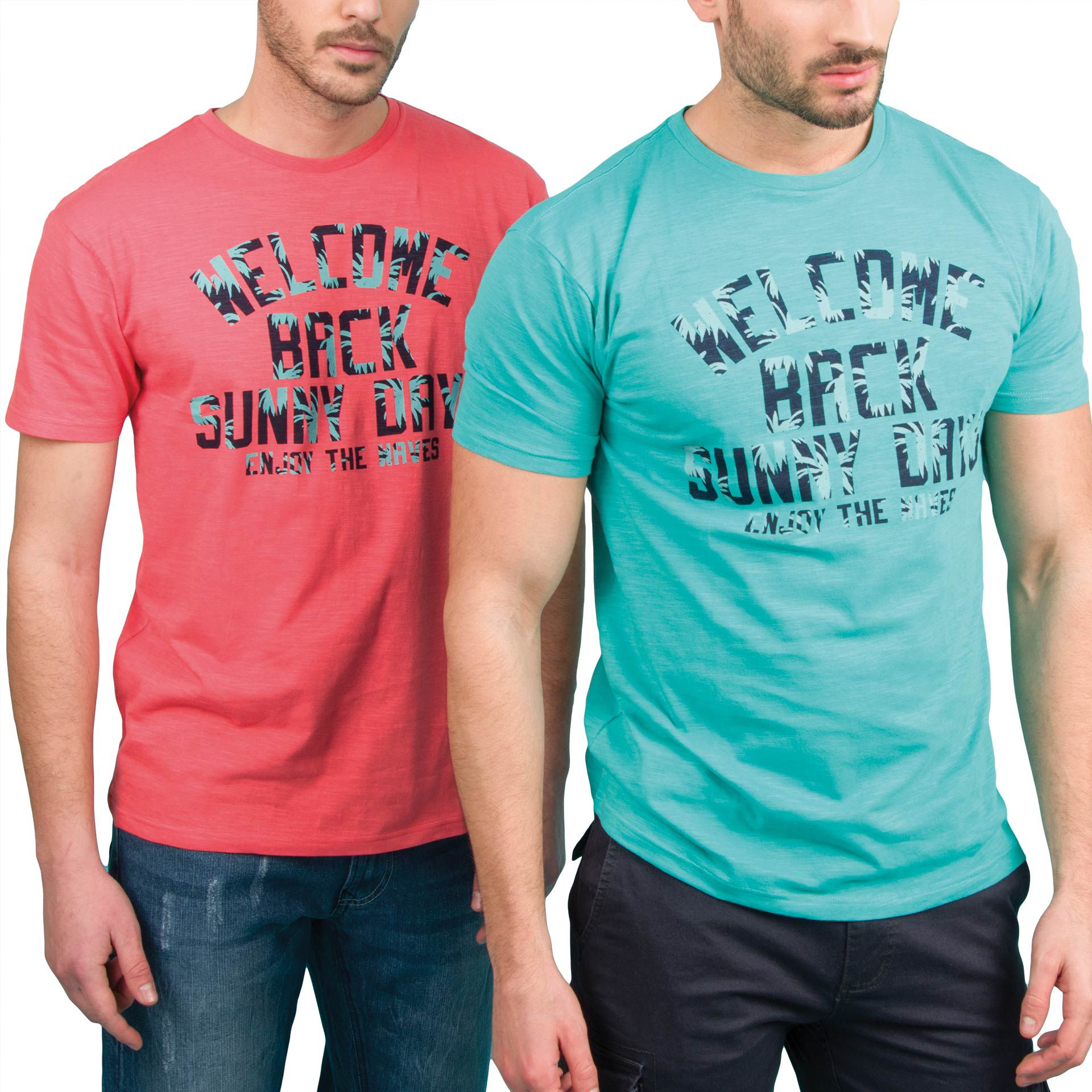 Ανδρική μπλούζα T-Shirt Double TS-37