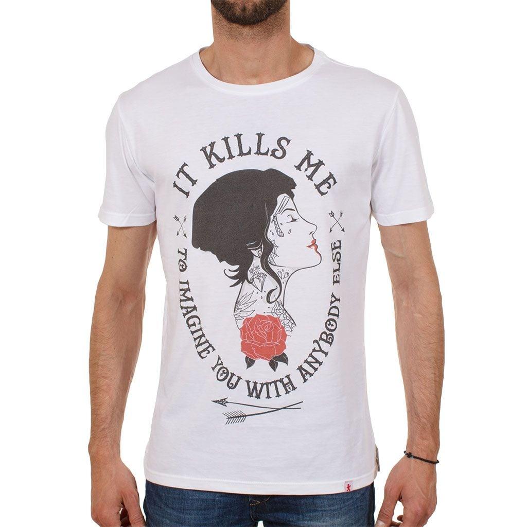 Ανδρική μπλούζα T-Shirt Mr.Hi & Friends S16-2002