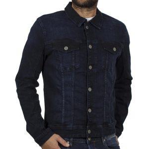 Τζιν Μπουφάν Jean Jacket BLEND 20707162 σκούρο Μπλε