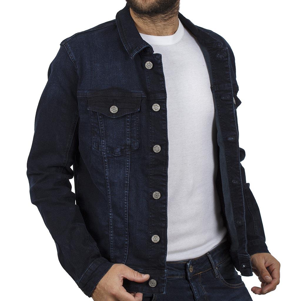 Τζιν Μπουφάν Jean Jacket BLEND 20707162 σκούρο Μπλε  53105879e85
