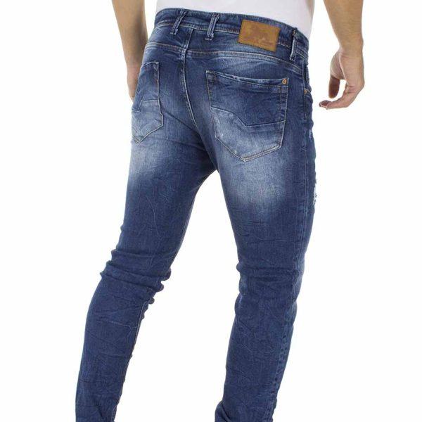 Jean Παντελόνι Back2jeans M8 slim Μπλε