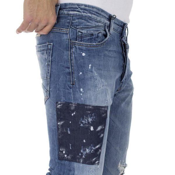 Τζιν Παντελόνι COVER Jeans DANNY 9762 Μπλε