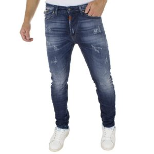 Τζιν Παντελόνι COVER Jeans SK8 7474 Μπλε