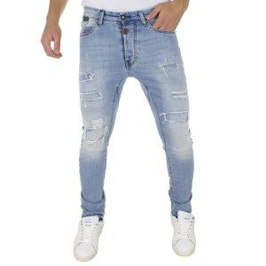 Τζιν Παντελόνι COVER Jeans SK8 7674 Μπλε