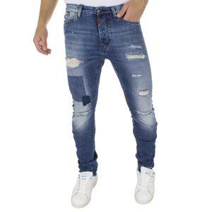 Τζιν Παντελόνι COVER Jeans SK8 7774 Μπλε