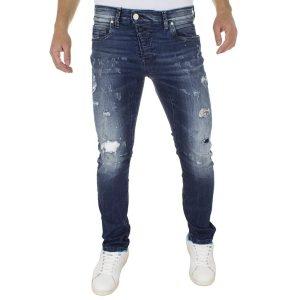 Τζιν Παντελόνι COVER Jeans TOXIC 8745 Μπλε