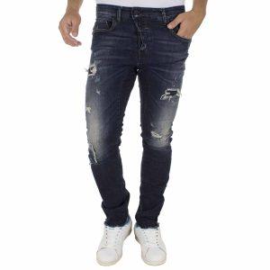 Τζιν Παντελόνι COVER Jeans TOXIC 7945 σκούρο Μπλε