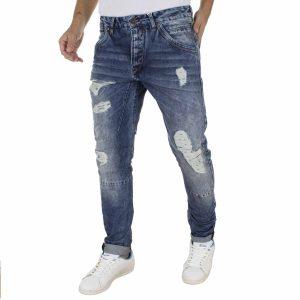Jean Παντελόνι SCINN jeans OSCAR Μπλε