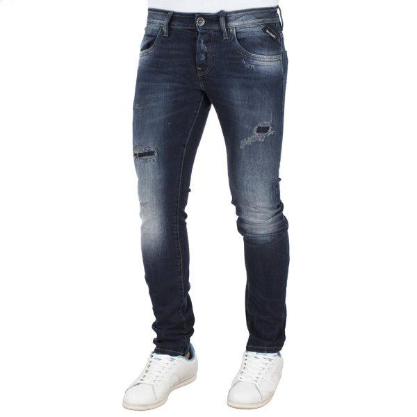 Τζιν Παντελόνι SHAFT Jeans B5693 Μπλε