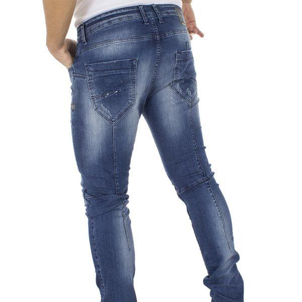 Τζιν Παντελόνι COVER Jeans LUCIO 8660 Μπλε