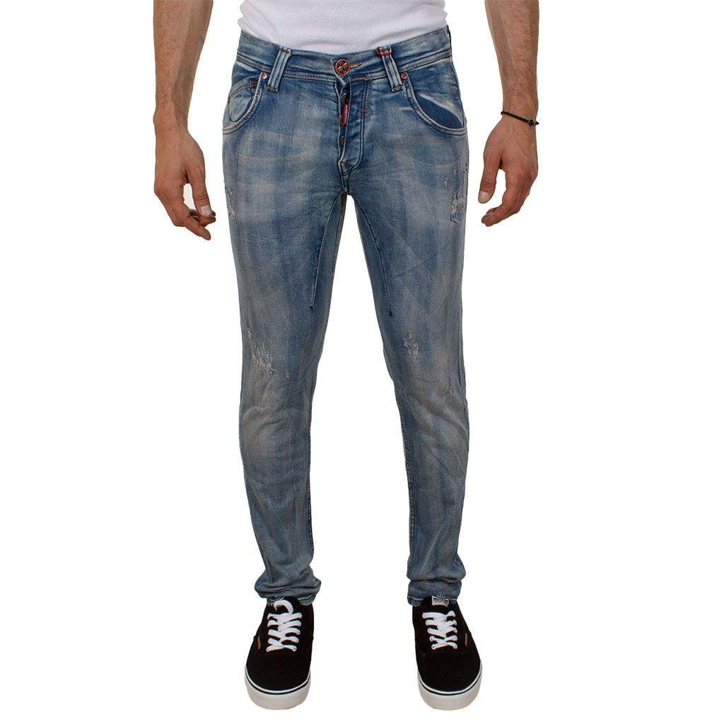 Τζιν Παντελόνι Damaged jeans D24
