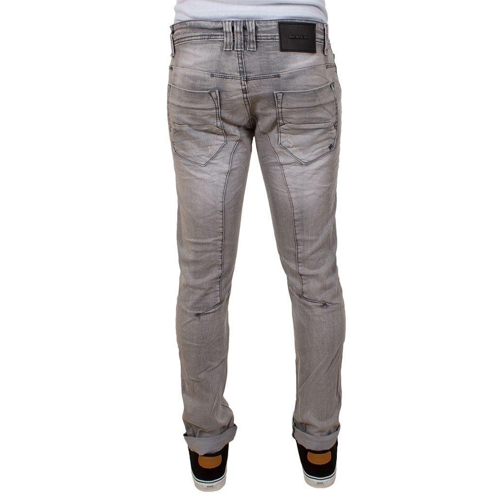 58d8a4e4f1fb Τζιν Παντελόνι Damaged Jeans D5 Slim Grey Γκρι