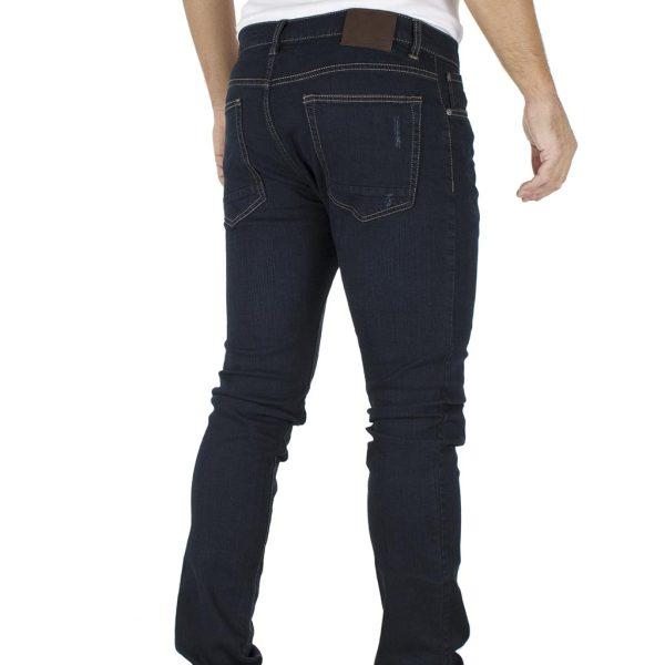 Τζιν Παντελόνι DOUBLE Jeans MJP-24 σκούρο Μπλε