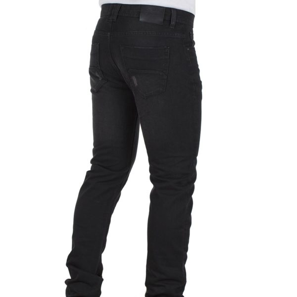 Τζιν Παντελόνι DOUBLE Jeans MJP-25 Μαύρο