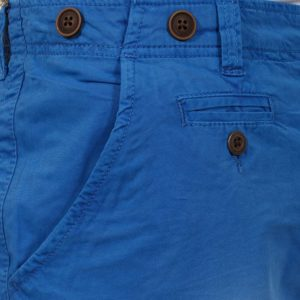 Βαμβακερή Βερμούδα Chinos FUNKY BUDDHA FBM05-3115 Μπλε