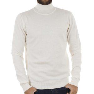 d2a261c2de94 Ζιβάγκο Πλεκτή Μπλούζα Garage55 GAM204-09218 Λευκό