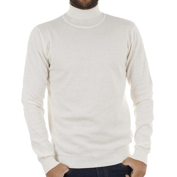 Ζιβάγκο Πλεκτή Μπλούζα Garage55 GAM204-09218 Λευκό