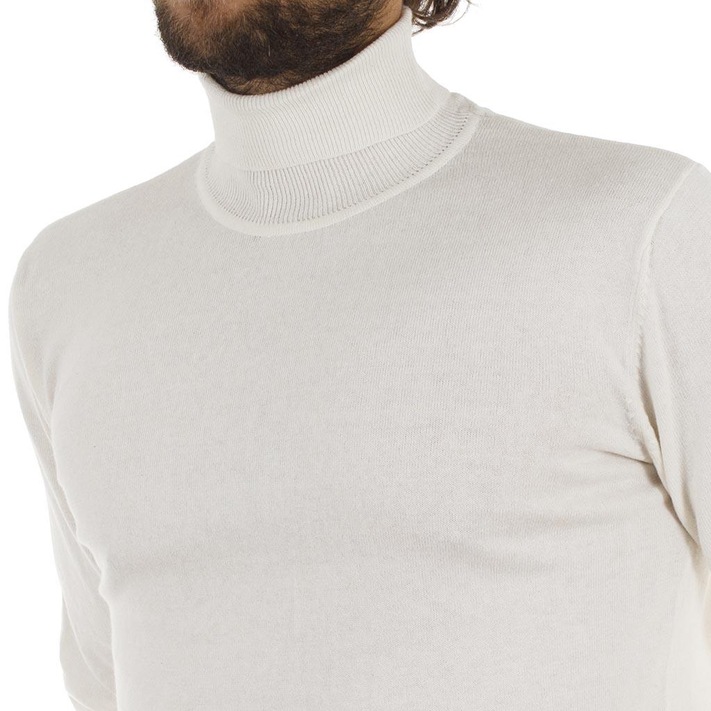 faf392a0785b Ζιβάγκο Πλεκτή Μπλούζα Garage55 GAM204-09218 Λευκό